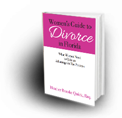 women's guide to divorce in Florida