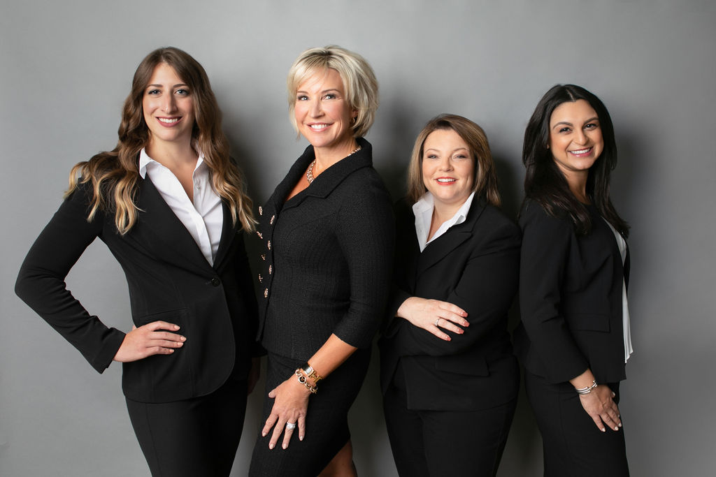 Heather Quick and some of the lawyers at Florida Women's Law Group