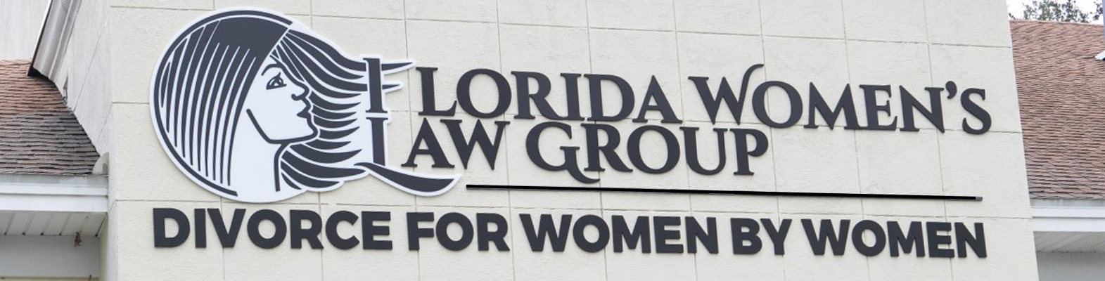outside sign of the Florida Women's Law Group building